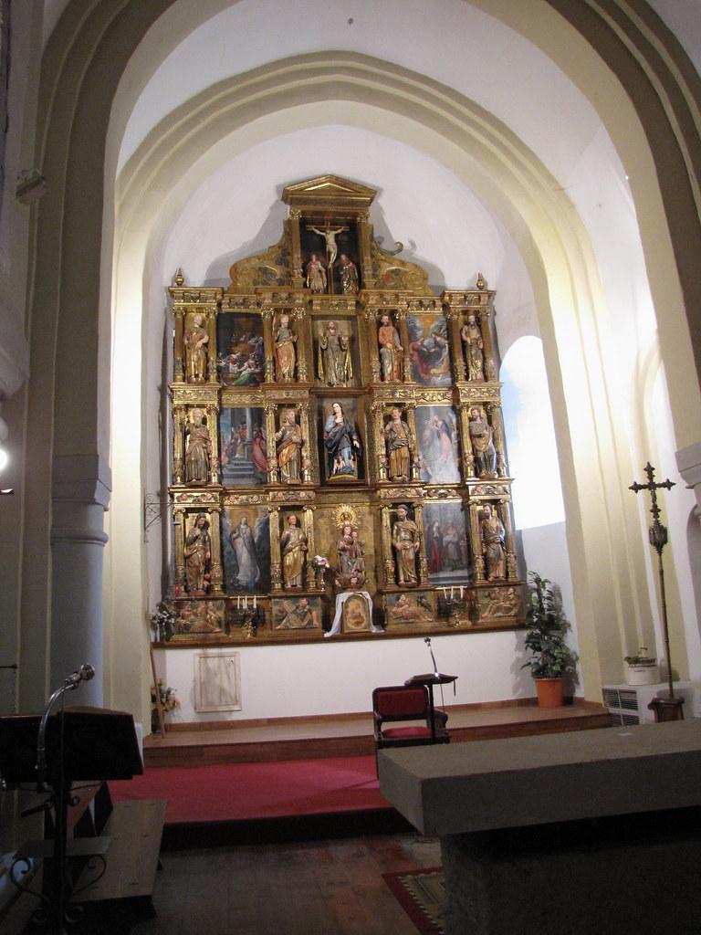 Iglesia de Santa María de la Asunción - Retablo mayor  Flickr