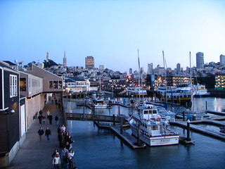 Fisherman's Wharf and San Fran in the background | by shedd