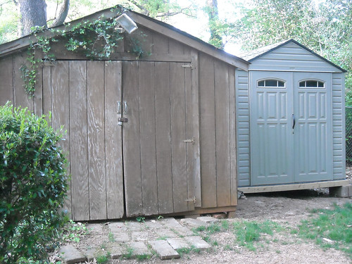 Rubbermaid Roughneck Outdoor Shed | By Allison Carter, CPO ...