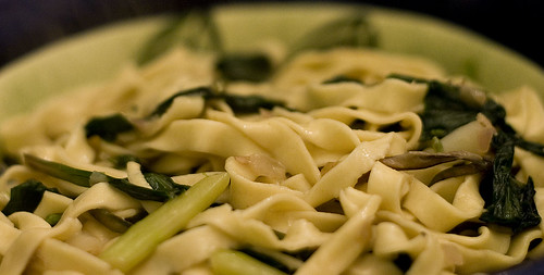 Fettucini with Asparagus and Ramps | by mleese