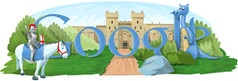 St Georges Day Google Logo | by rustybrick