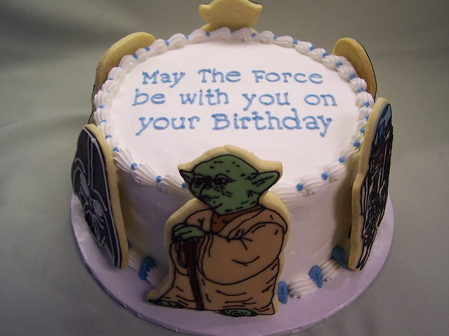 Star Wars Birthday Cake