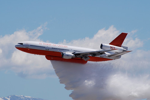CDF DC-10 Water Drop | by linda m bell