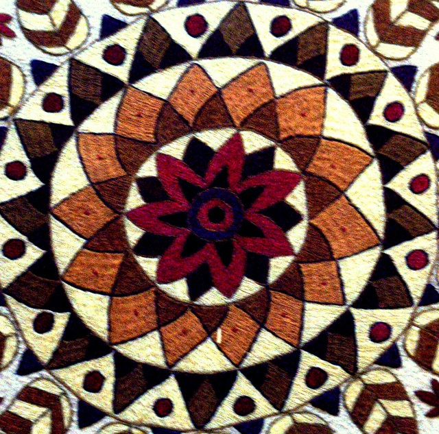 Kantha Embroidery The Quot Kantha Quot Stitch Mainly Used In
