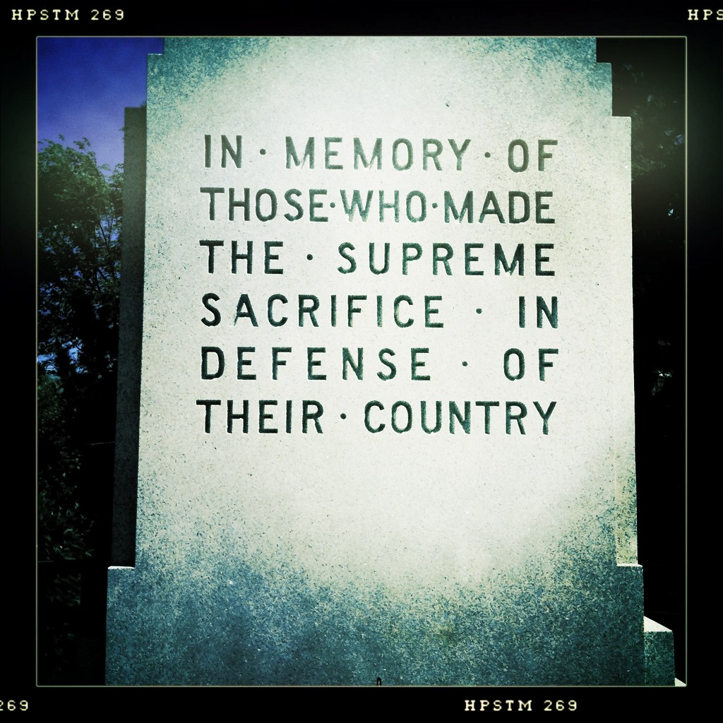 memorial day 2010 in memory of those who made the