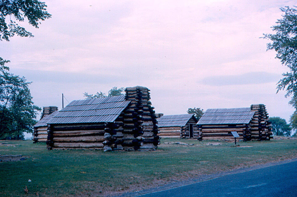 ... Valley Forge   Soldiersu0027 Cabins   By Roger4336