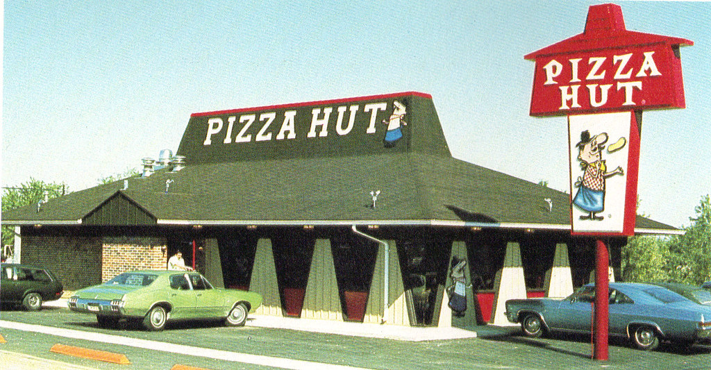 Pizza Hut Mansard Roof With Pizza Pete They Always Had A