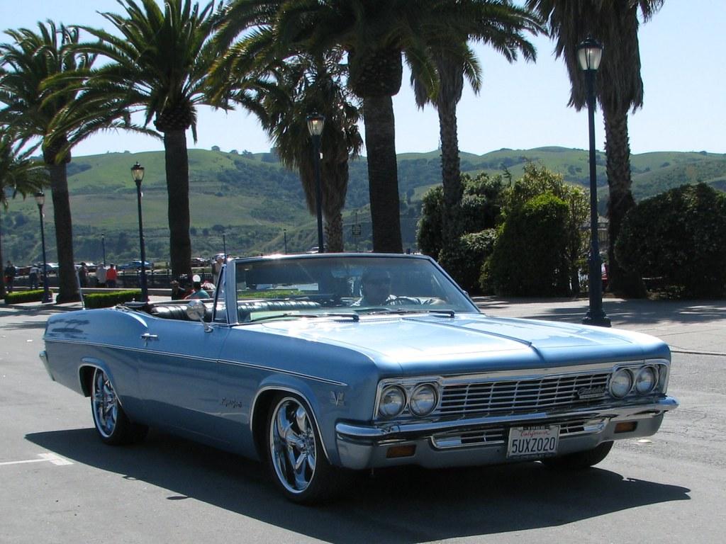 1966 Chevrolet Impala Ss Convertible Custom 5uxz020 4