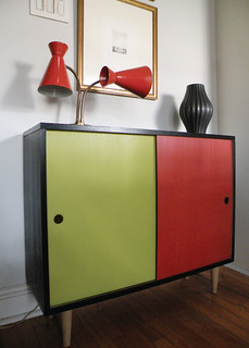 new Mid Century Cabinet | by Mad Modern