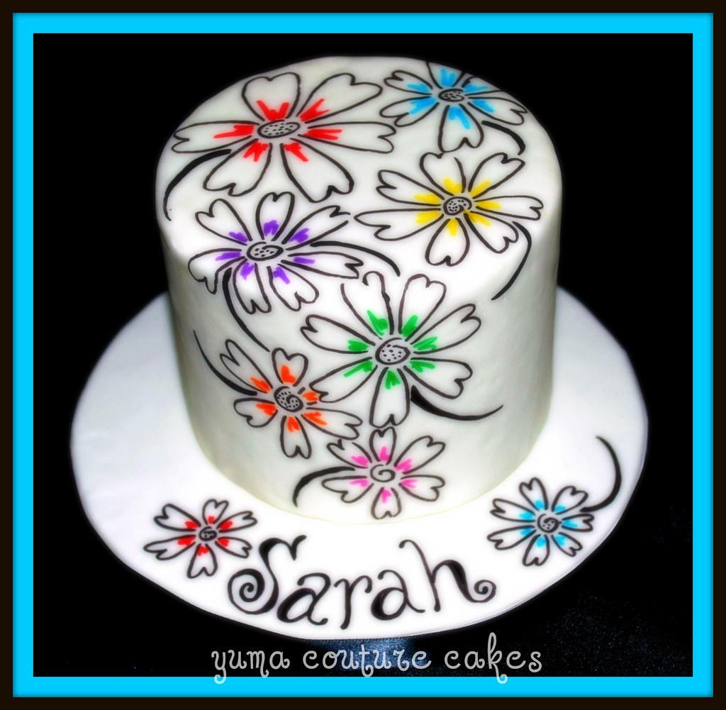 Yuma Arizona Birthday Cake Sarah Vanilla Bean Poundcake Flickr