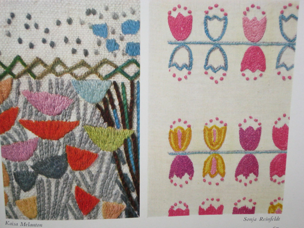 Swedish Embroidery Embroidery By Kaisa Melanton And Sonja Flickr