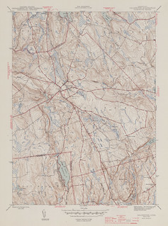 Colchester Quadrangle 1945 - USGS Topographic 1:31,680 | by uconnlibrariesmagic