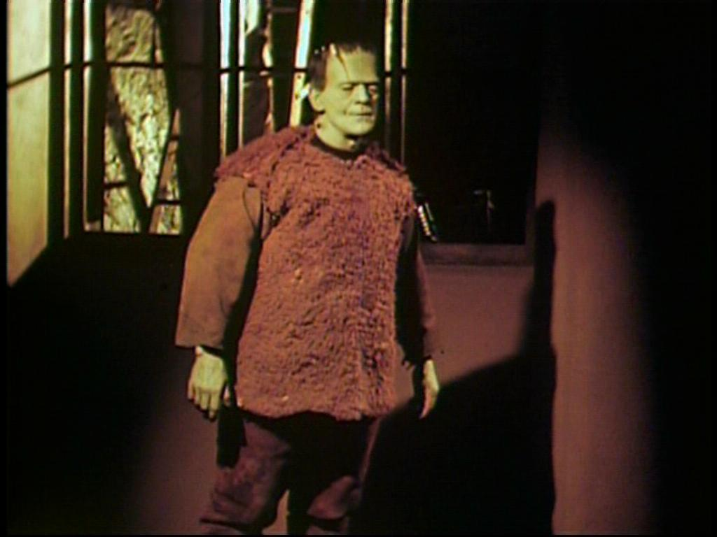 Son of Frankenstein (color)   Here is a captured image ...