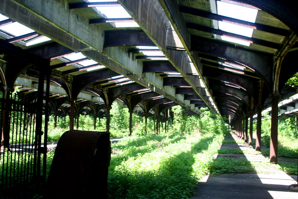 Overgrown Abandoned Train Station Overgrown And