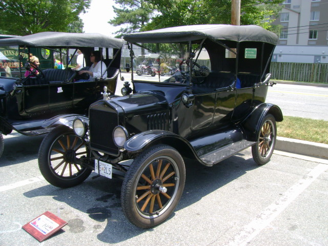 1922 Ford Model T Maryland Motor Vehicle Administration