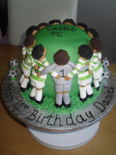 Celtic Huddle Birthday Cake