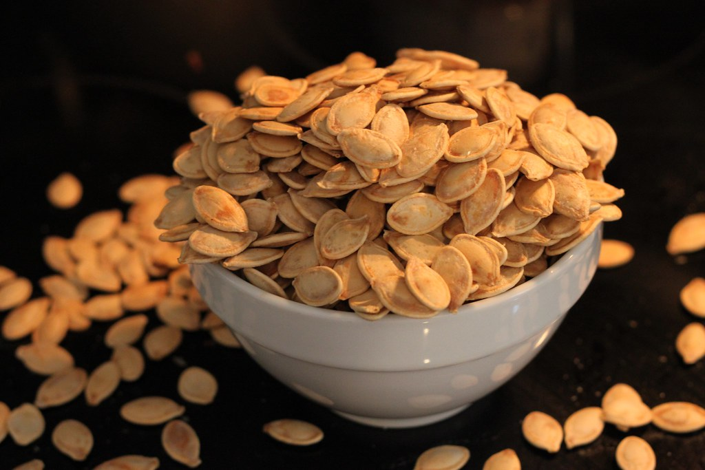 Image result for baked pumpkin seeds