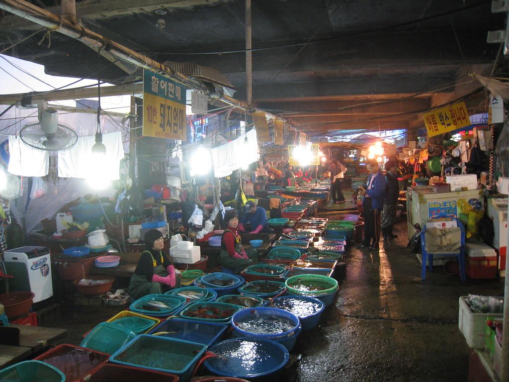Daepohang Fish Market Jim Flickr