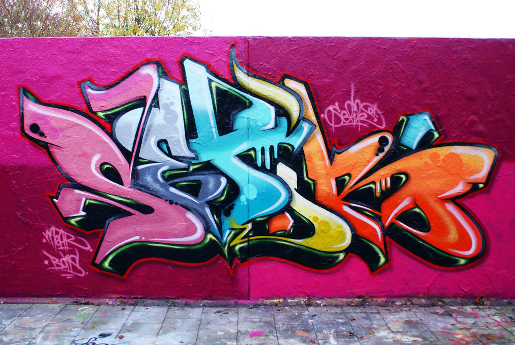 How to Draw Graffiti Letters 13 Steps with   wikiHow