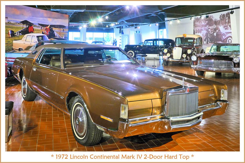 1972 Lincoln Continental Mark Iv 2 Door Hard Top Photograp Flickr