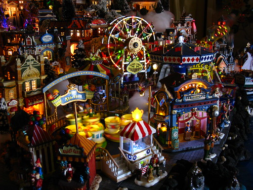 The Carnival Boardwalk, 2009 Christmas Village | Flickr - Photo ...