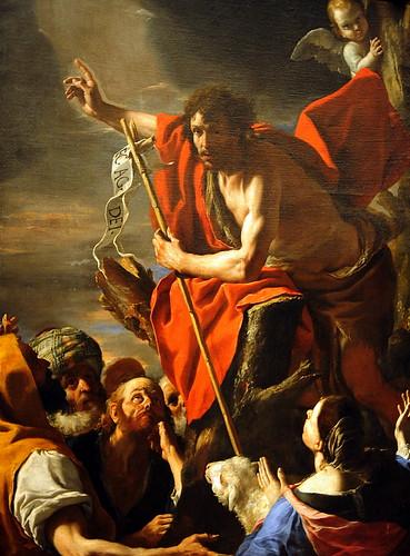 st john the baptist preaching ca 1665 mattia preti