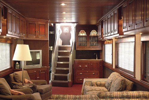 Private Rail Car - Observatory, lounge | Private rail cars ...