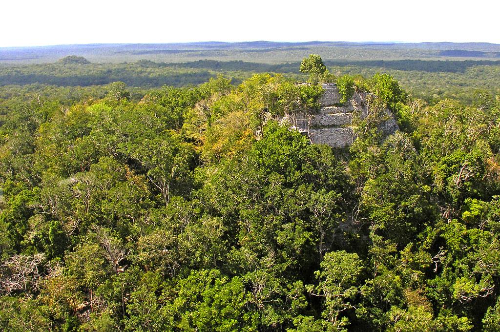 Guatemala 1828 la danta at the mayan site of el mirador for El mirador de villalbilla