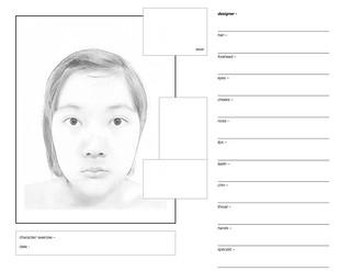 makeup worksheet sample yuheng dai flickr. Black Bedroom Furniture Sets. Home Design Ideas