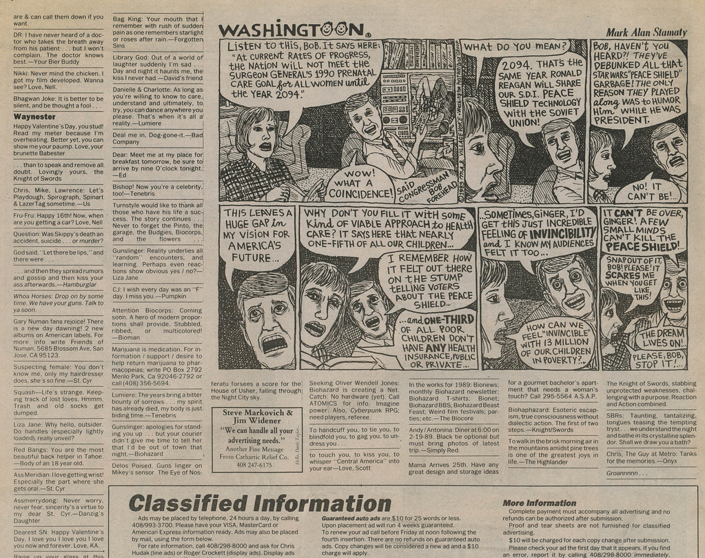 Metro Personals - Biohazard Feb 16 1989b   Definitely viewed…   Flickr
