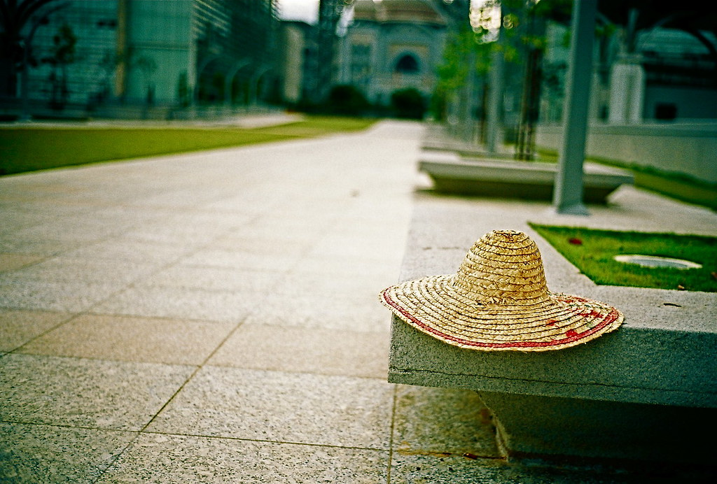 Where I Lay My Hat - Making a living | A straw hat on the Pr… | Flickr