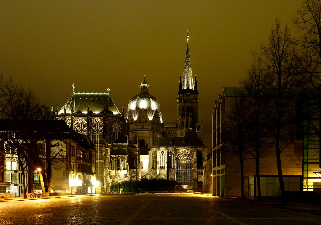 aachen cathedral aachen cathedral frequently referred to flickr. Black Bedroom Furniture Sets. Home Design Ideas