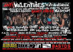Urban Haphazard Takeover III - Anti Valentines Extravaganza 13th February 2010, London | by Iron Man Records