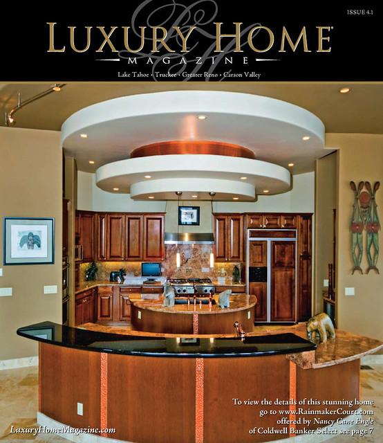 Lake Tahoe Luxury Homes: Luxury Home Magazine Lake Tahoe Reno Issue 4.1