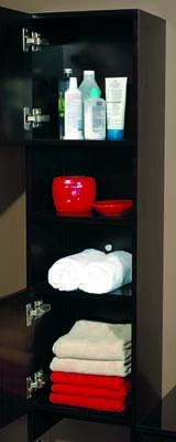 Bathroom Cabinet Tower Genova Brown Priele Italian Design Flickr