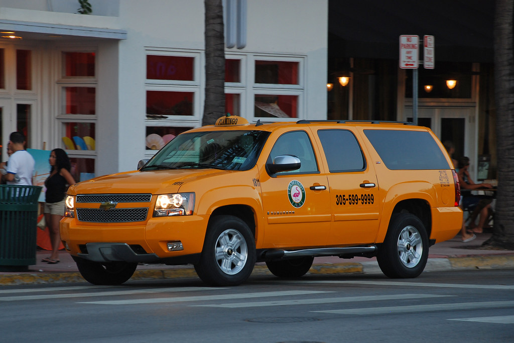 Flamingo Taxi Chevrolet Suburban Taxi In Miami Beach