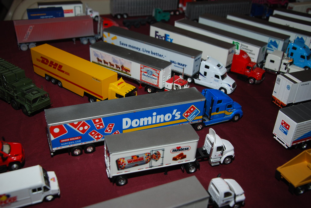 Big Rig Toy Trucks 1:87 Diecast Big Rig Toy