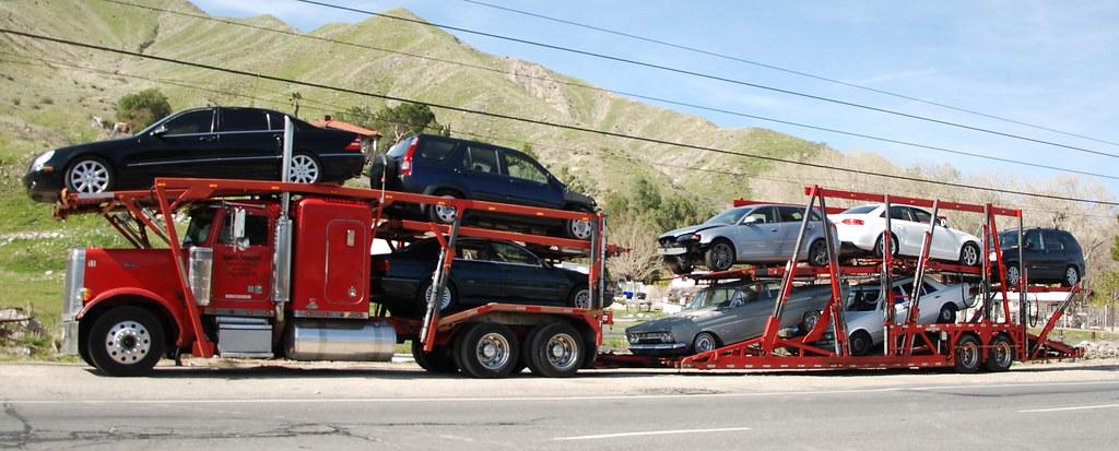 Quality Transport Peterbilt Car Carrier Truck 18 Wheeler Flickr