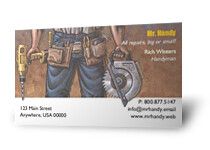 Contractor business cards 1 sample of many business card t flickr contractor business cards by 123print colourmoves