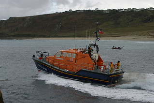 RNLI 16-14 City of London III, Sennen's Tamar ALB | by Triple9photography