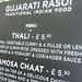 Vegetarian Indian stall