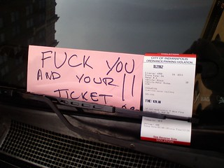 Yeah! Fuck tha police! Or, you know, whatever. | by passiveaggressivenotes