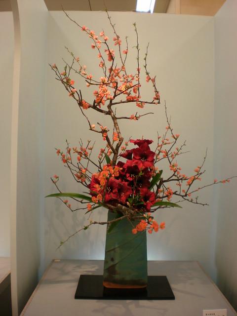 Floral Arrangement Japan : Japanese flower arrangement ikebana いけばな flickr