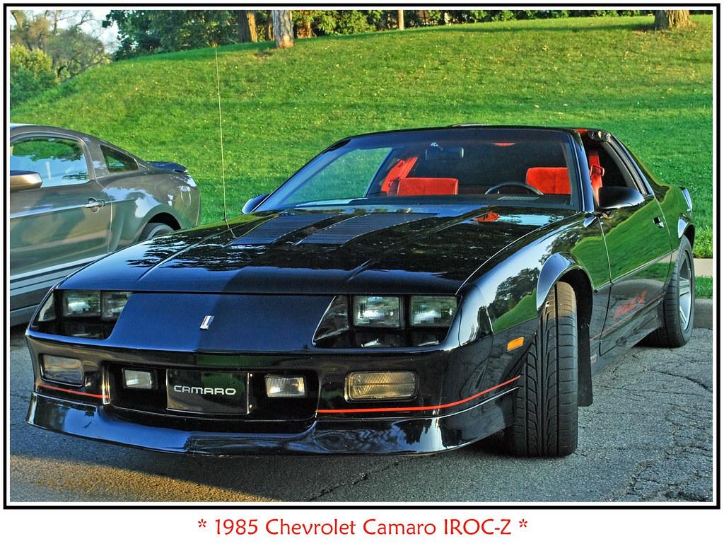 1985 Camaro IROC-Z   September 10, 2009 Depot Town Cruise ...