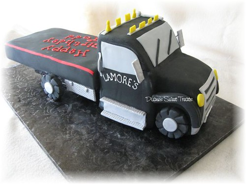 Tow Truck Cake Turnpike Motors In Newington Ordered This