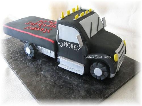 Tow Truck Cake Ideas