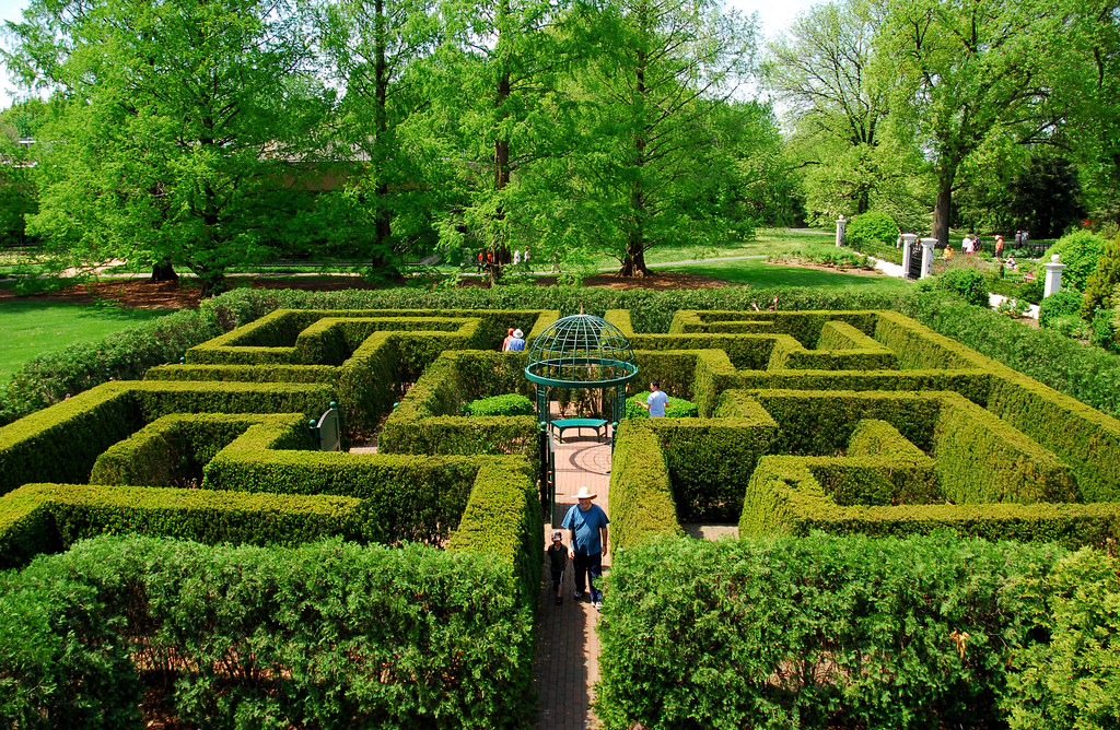 Maze missouri botanical garden flickr - Missouri botanical garden st louis mo ...