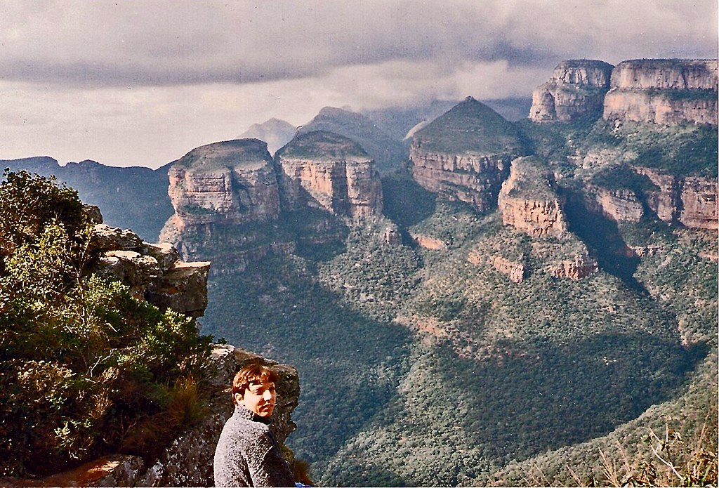 Drakensburg Mountains Eastern Transvaal 1994 Wife At