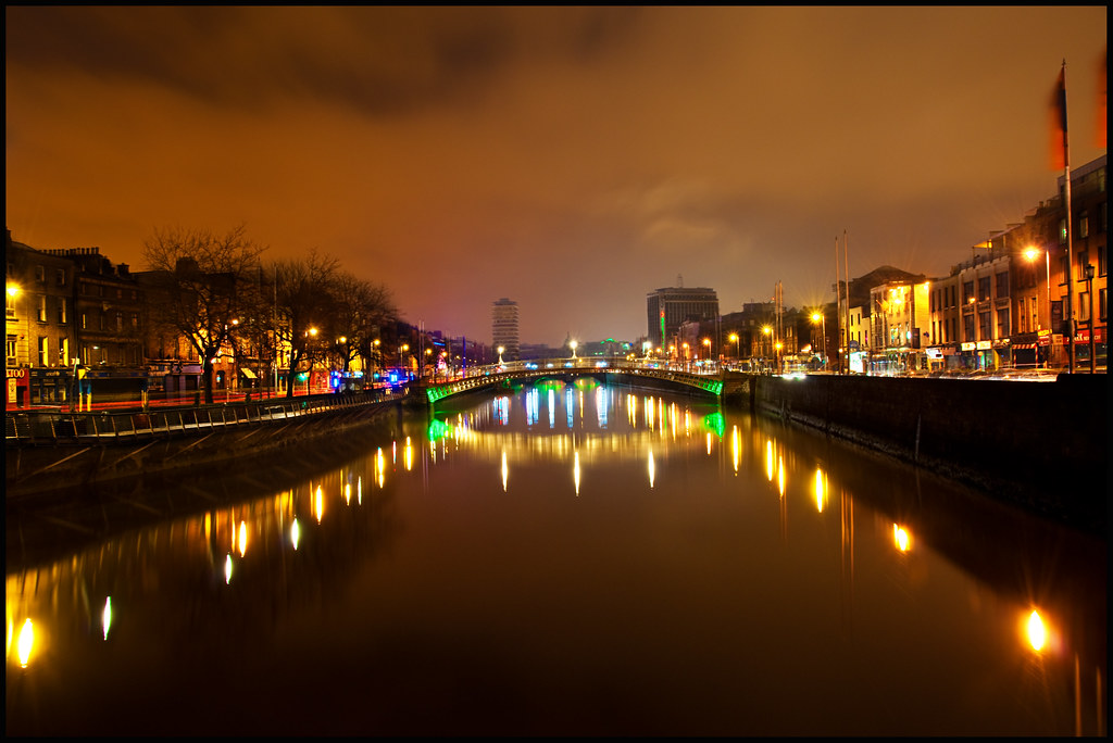 Dublin Night Out Dublin Night View | by