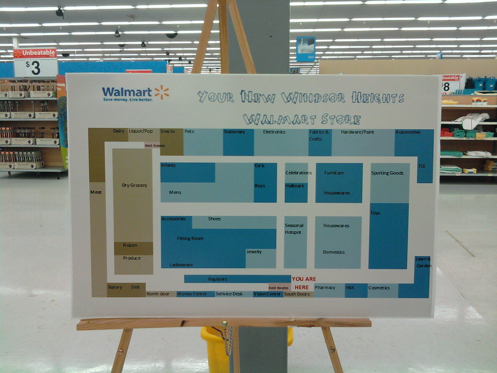Wal Mart 73rd Street Windsor Heights Des Moines Iow Flickr